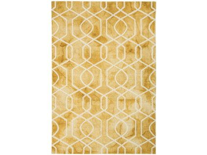 Moderní kusový koberec Airplane Yellow