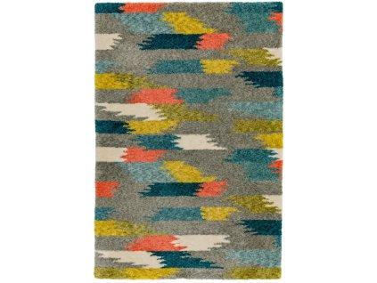 Moderní kusový koberec Cure GA01 Grey Multi