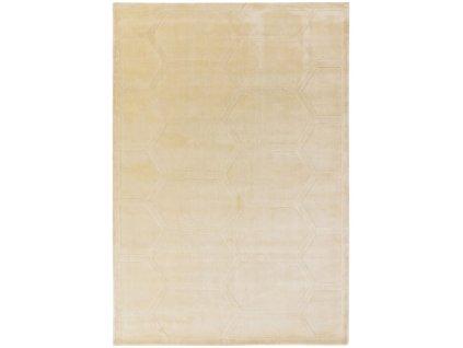 Moderní jednobarevný kusový koberec Pulp Snow