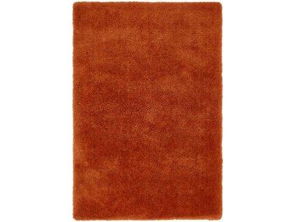 Moderní jednobarevný kusový koberec Zappa Spice