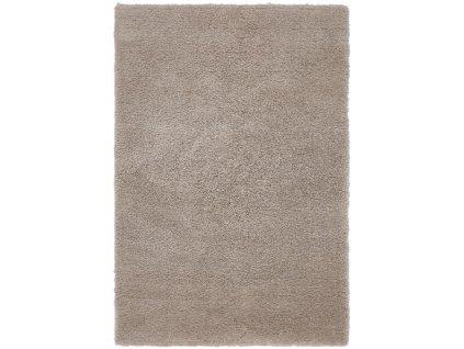 Moderní jednobarevný kusový koberec Zappa Stone