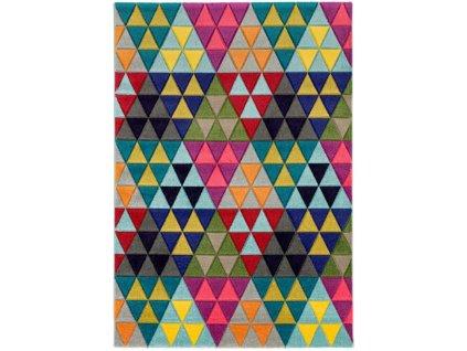 Moderní kusový koberec Hopino MA02 Triangle