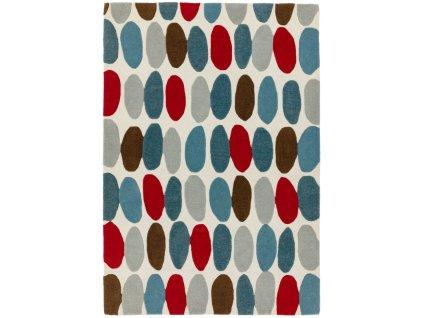 Moderní kusový koberec MAX33 SOFIA RED TEAL