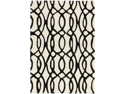 Moderní kusový koberec MAX35 WIRE WHITE