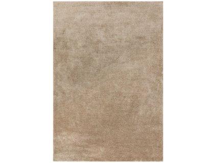 Moderní jednobarevný kusový koberec Piemo Sand