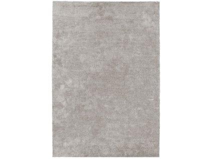 Moderní jednobarevný kusový koberec Piemo Silver