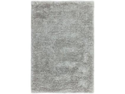 Moderní jednobarevný kusový koberec Incubus Silver