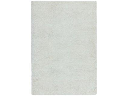 Moderní jednobarevný kusový koberec Incubus White