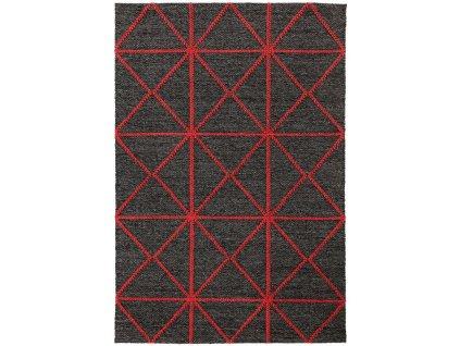 Kusový koberec Bai Red