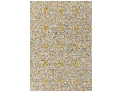 Kusový koberec Bai Yellow