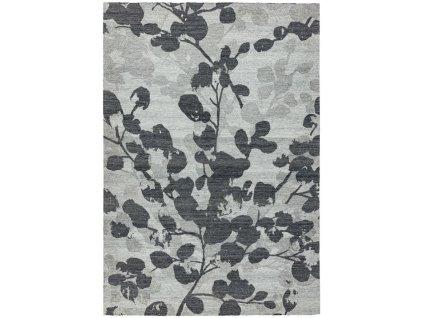 Kusový koberec Newtor Leaf Grey