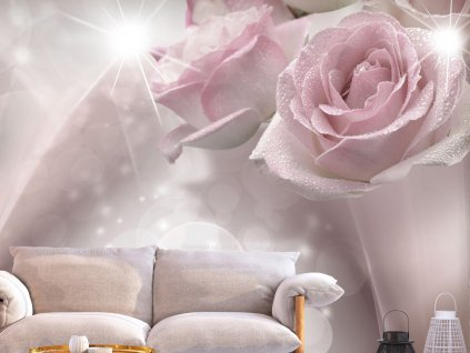 Fototapeta Orosené růže (Rozměry (š x v) a Typ 147x105 cm - samolepící)