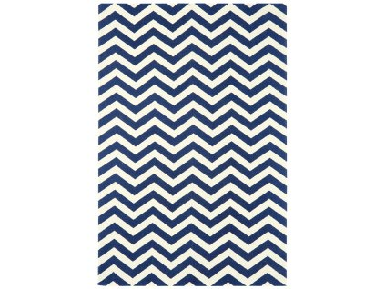 Kusový koberec Tycho Geo Blue