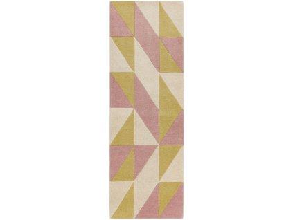 Běhoun Jigsaw Flag Pink