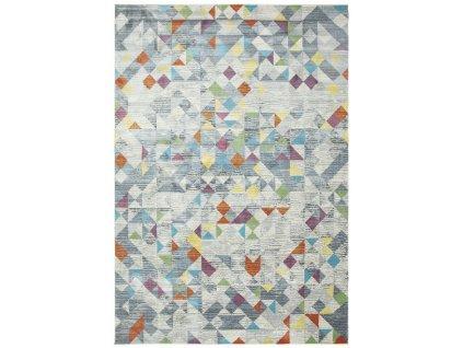 kusovy koberec nakato rhombus grey