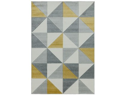 kusovy koberec furla cubic ochre (2)