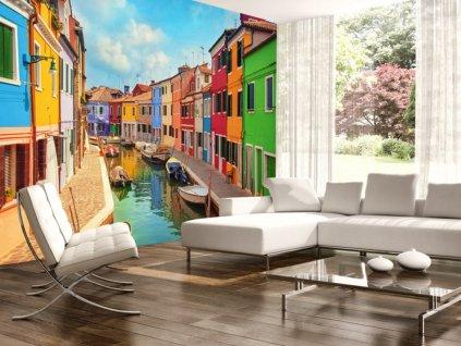 Fototapeta barevné Benátky