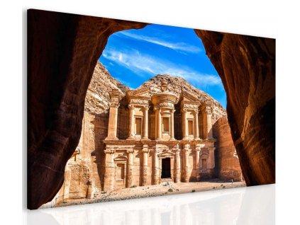 Obraz Petra v Jordánsku