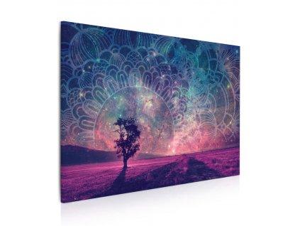 Obraz Mandala na hvězdném nebi