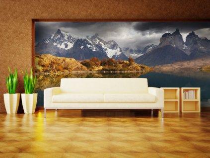 Národní park Torres del Paine (Rozměry (š x v) a Typ 147x116 cm - samolepící)