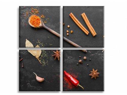 Obraz ingredience (Velikost (šířka x výška) 40x40 cm)