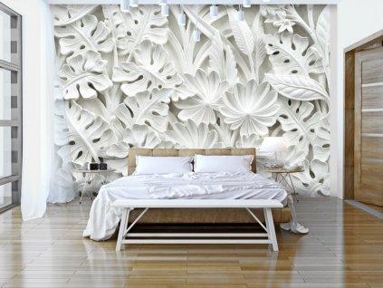 3D tapeta - Zahrada z alabastru (Rozměry (š x v) a Typ 147x105 cm - samolepící)