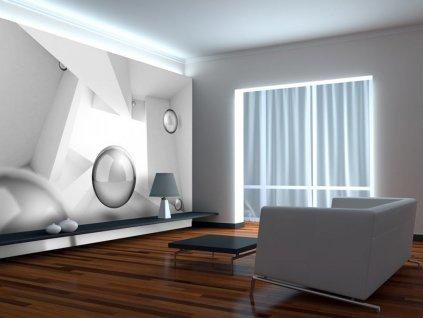 3D tapeta druhý prostor (Rozměry (š x v) a Typ 147x105 cm - samolepící)