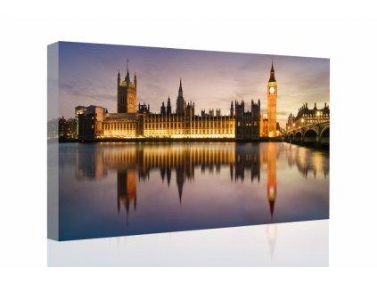 Obraz Westminsterský palác (Velikost 90x60 cm)