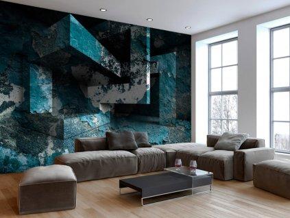 3D tapeta na stěnu II. (Rozměry (š x v) a Typ 147x105 cm - samolepící)