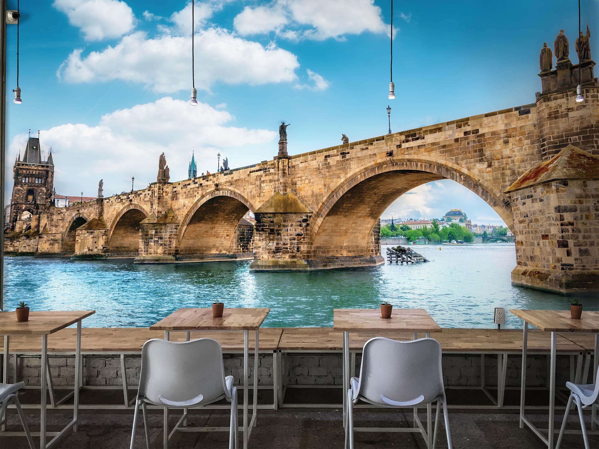 Tapeta Karlův most Praha Vel (šířka x výška): 144 x 105 cm