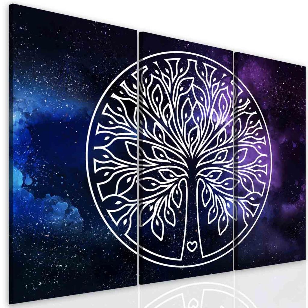 Obraz vesmírný strom života Velikost: 90x70 cm