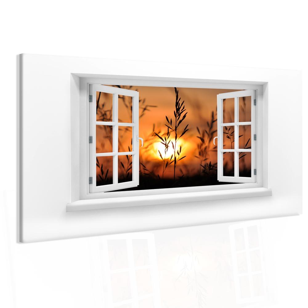Obraz výhled na západ slunce Velikost: 90x60 cm