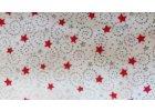 Červené hvězdičky se stříbrnými krucánky
