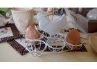 Stojánek na vajíčka se slípkou