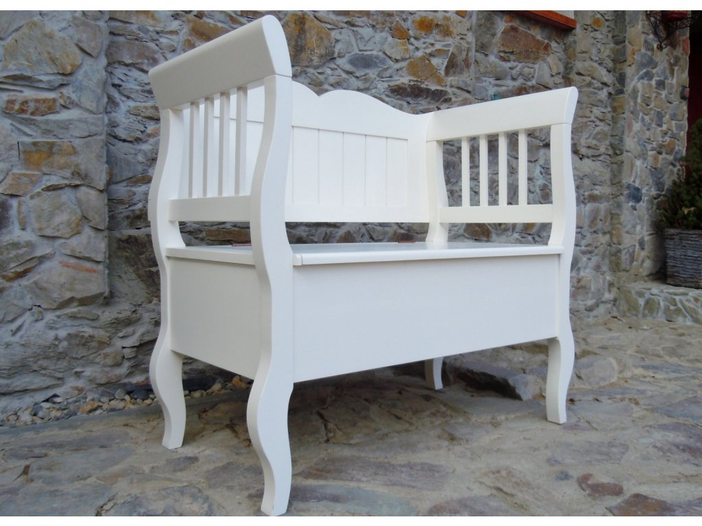 Stylová lavice s úložným prostorem
