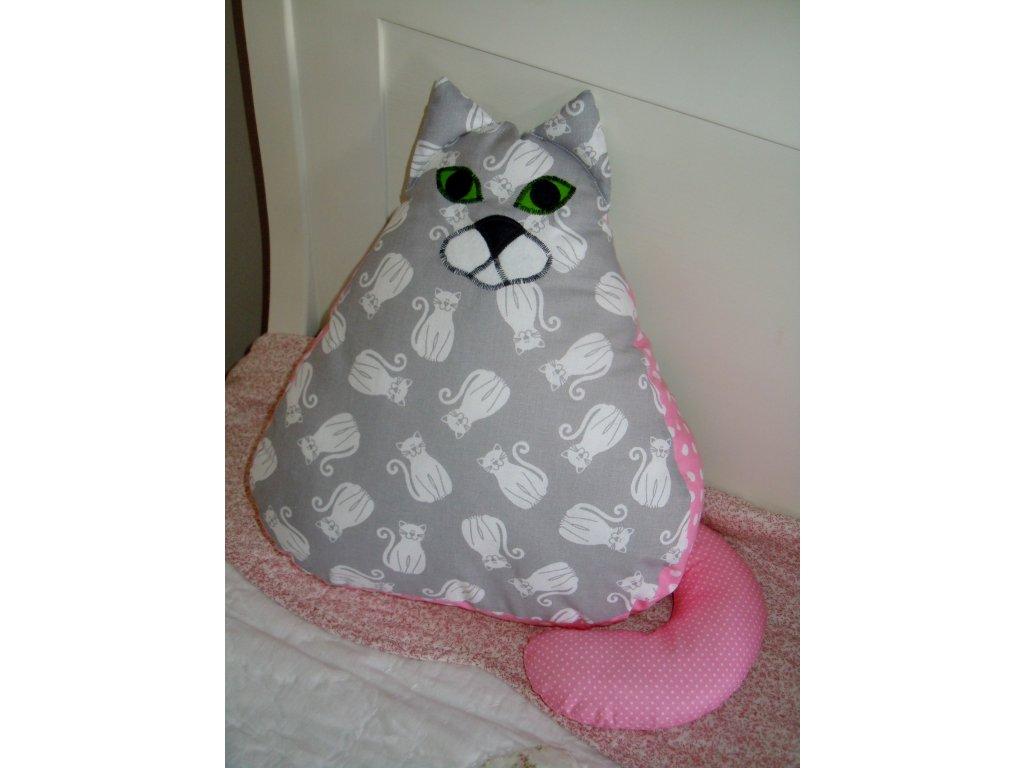 Kočičí polštářek