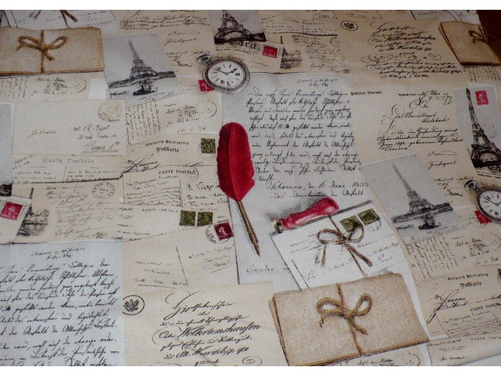 Paříž , dopisy