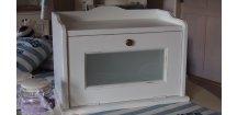 Chlebník bílá patina