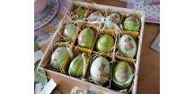 Vajíčka zelená s králíčkem