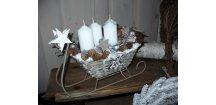 Adventní sáňky sněžné