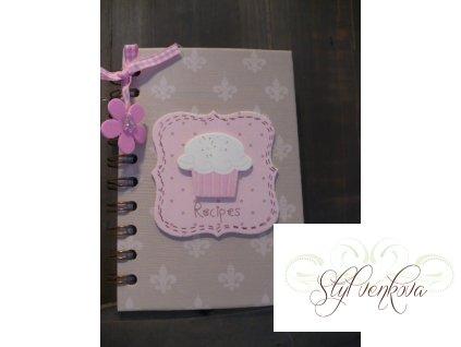 Receptář- zápisník na recepty