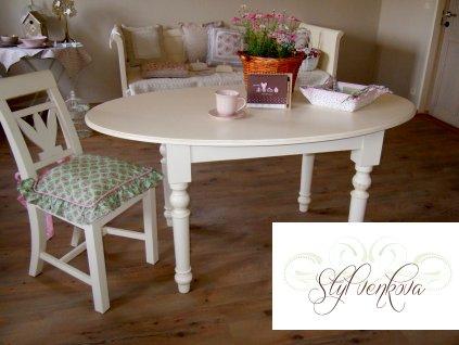 Stůl  jídelní oválný