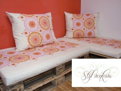 Futonové matrace na paletové sezení