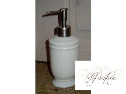 Dávkovač na mýdlo tečky