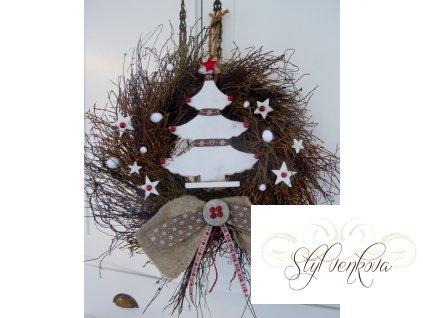 Střapatý vánoční