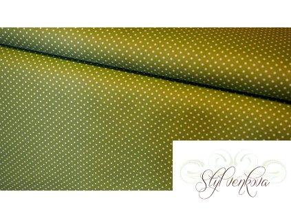 Drobný puntíček na zelené
