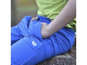 Dětské softshellové kalhoty Tandem MODRÁ