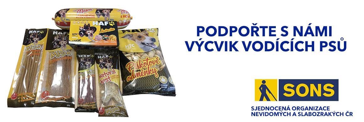 Podpořte výcvik vodících psů