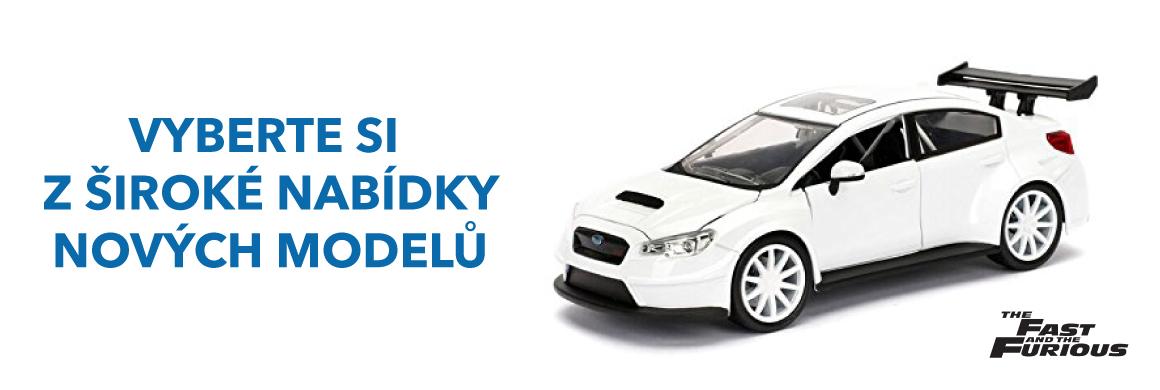 Nové modely vozů Subaru