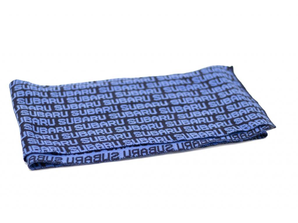 Pletená šála v modré barvě (Merino   Acryl) - SUBARU BUTIK 0ffe3c5b9a